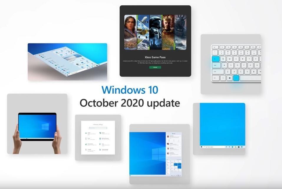 Windows 10 Ekim 2020 güncellemesi yayınlandı.