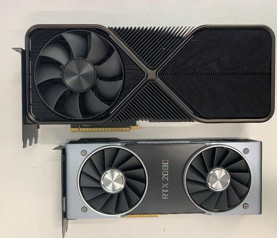 GeForce RTX 3090, 3 slotu kaplayan tam bir canavar olacak.