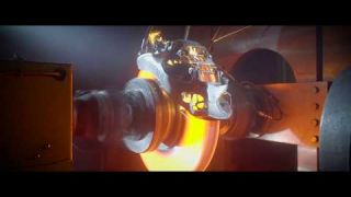 Testing the world's first 3D printed brake caliper