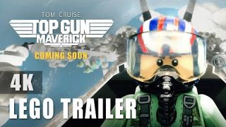 Top Gun: Maverick  - Official Trailer IN LEGO