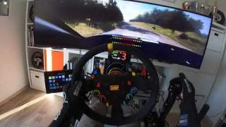 CRAZY SPEED in DIRT Rally 2.0 - Audi S1 WRX - Germany - High End Full Motion Simulator
