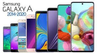 Samsung Galaxy A-Serie Evolution 2014-2020